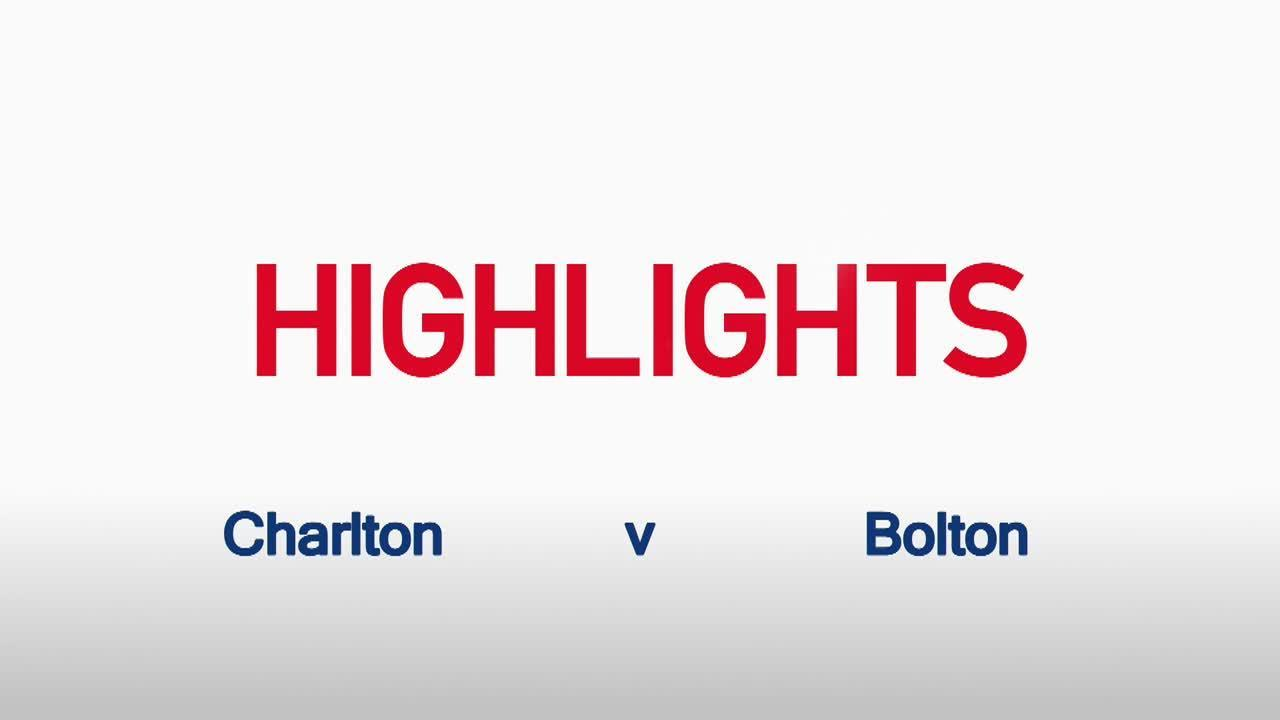 24 HIGHLIGHTS | Charlton 2 Bolton 2 (Dec 2015)