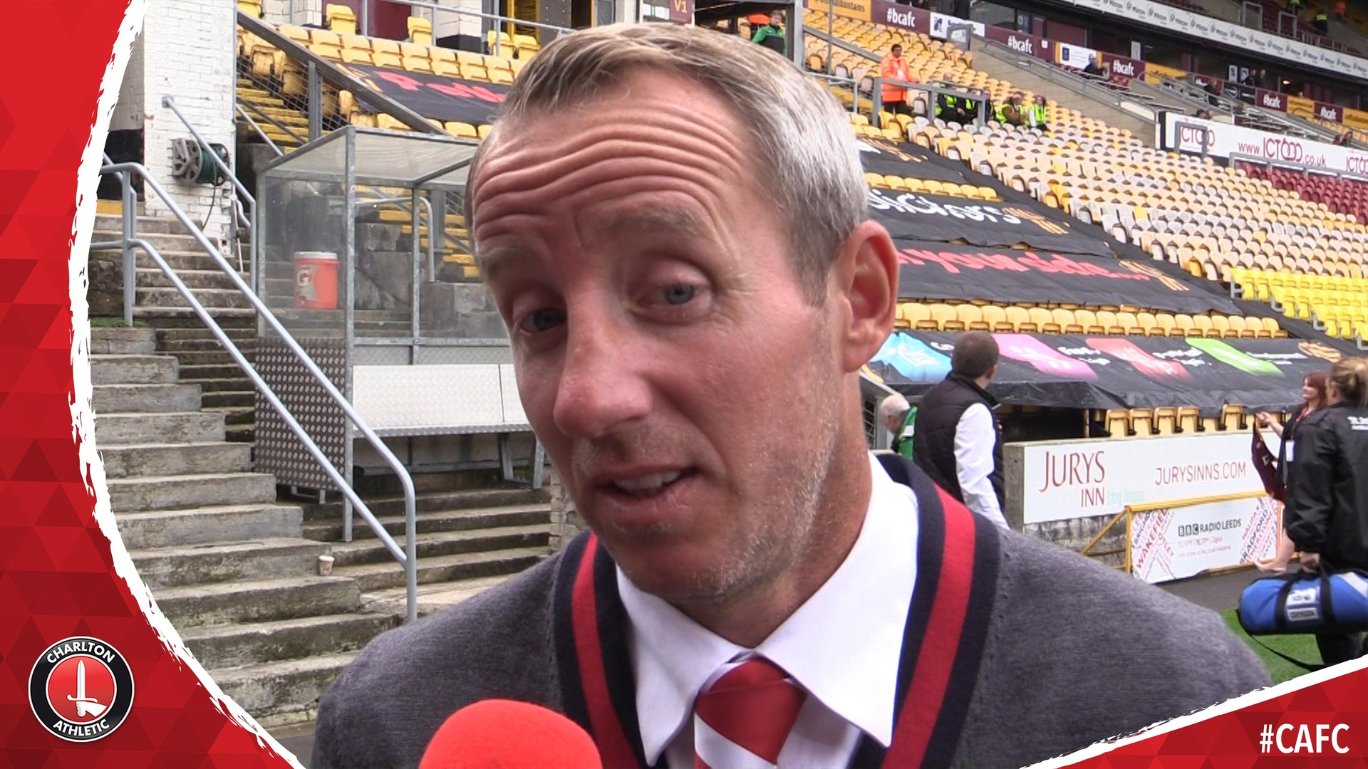 Lee Bowyer on Charlton's 'deserved' victory at Bradford City