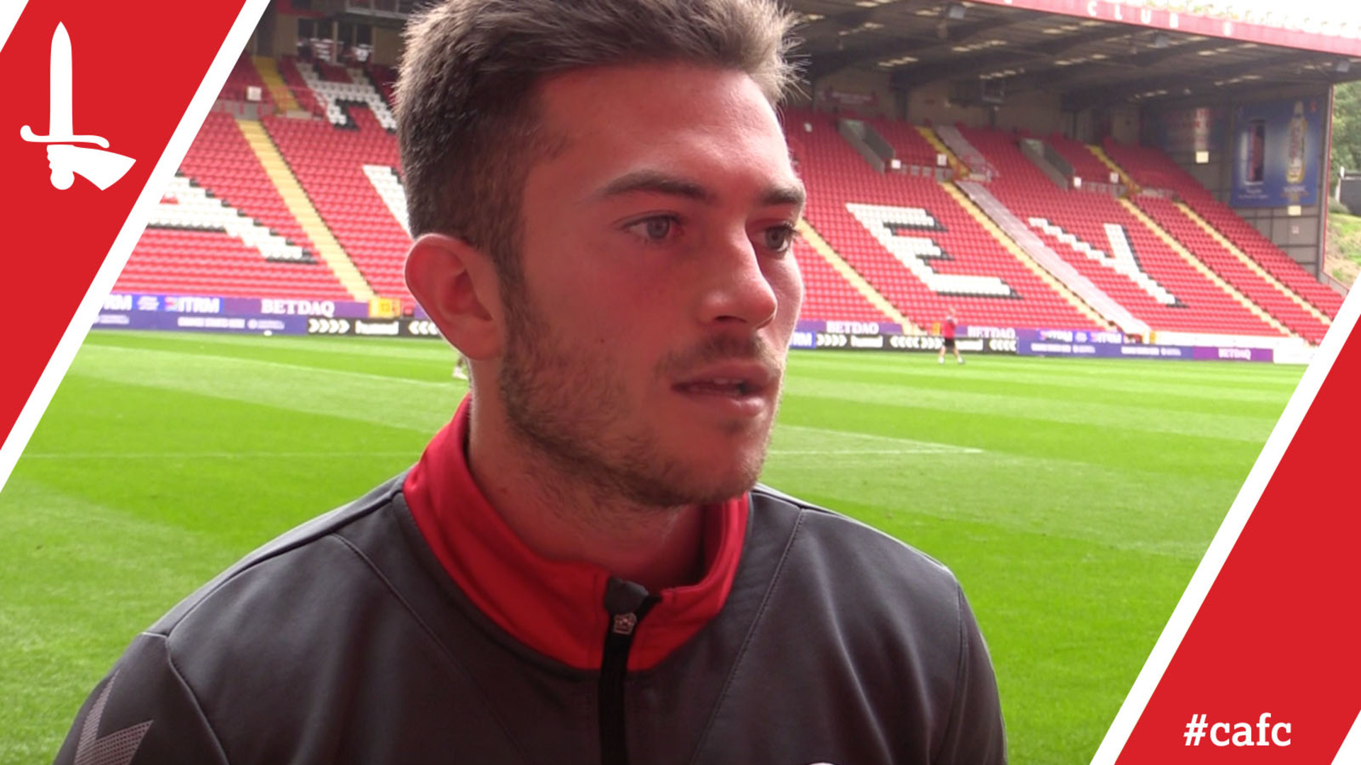 Fit-again Lewis Page delighted to be back out at The Valley