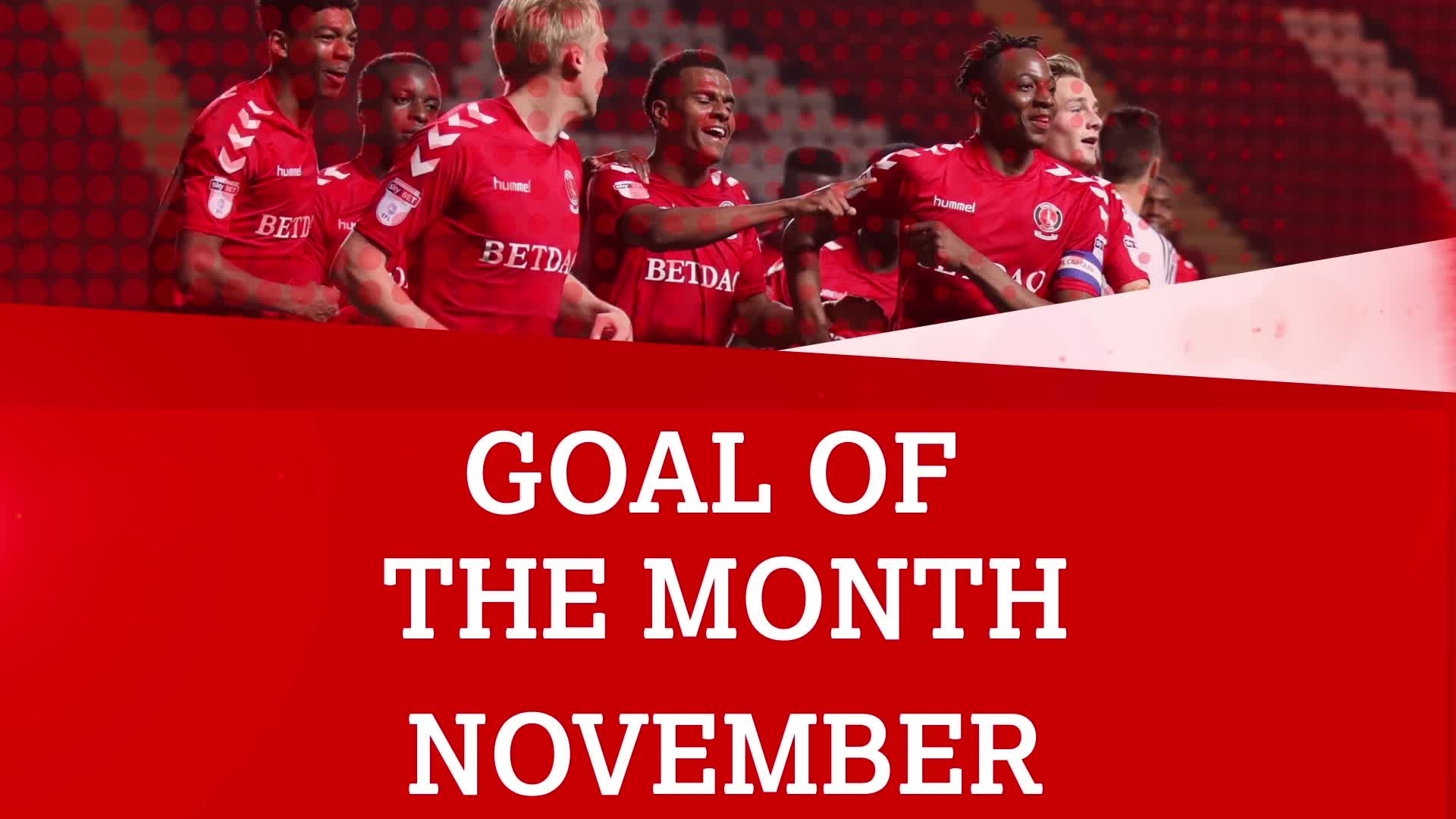 GOAL OF THE MONTH | November