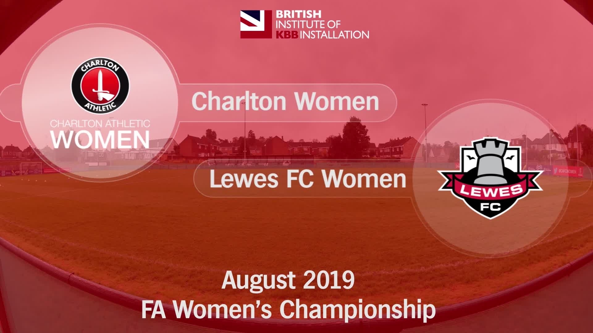 WOMEN'S HIGHLIGHTS | Charlton Athletic Women 0 Lewes FC Women 0 (August 2019)