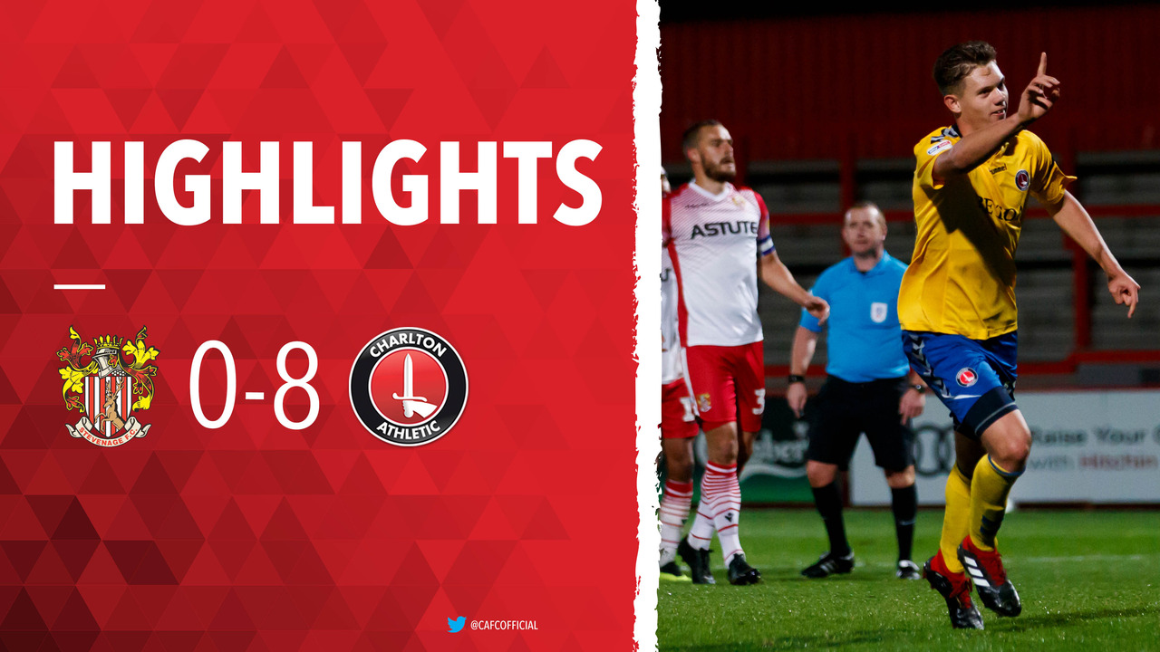 15 HIGHLIGHTS | Stevenage 0 Charlton 8 (EFL Trophy October 2018)