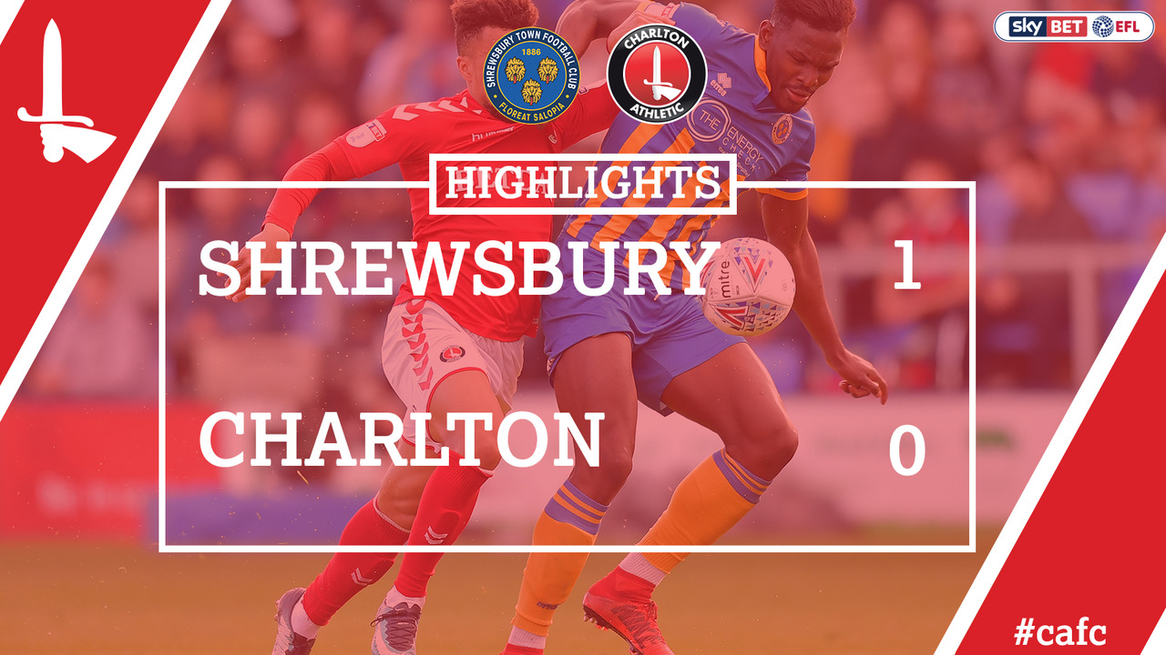 56 HIGHLIGHTS | Shrewsbury 1 Charlton 0 (Play-off Semi Final May 2018)