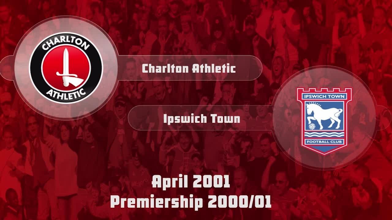 41 HIGHLIGHTS | Charlton 2 Ipswich Town 1 (April 2001)