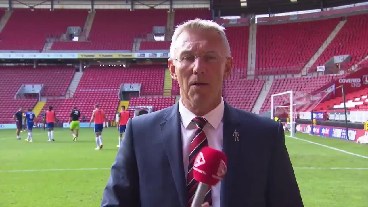 Nigel Adkins post-Cheltenham Town press conference (September 2021)