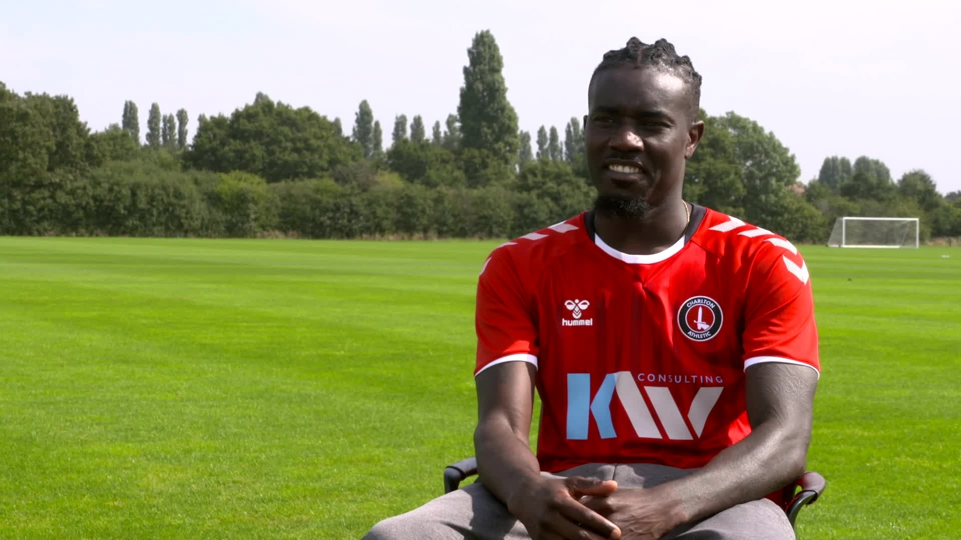 Pape Souare's first Charlton interview (September 2021)