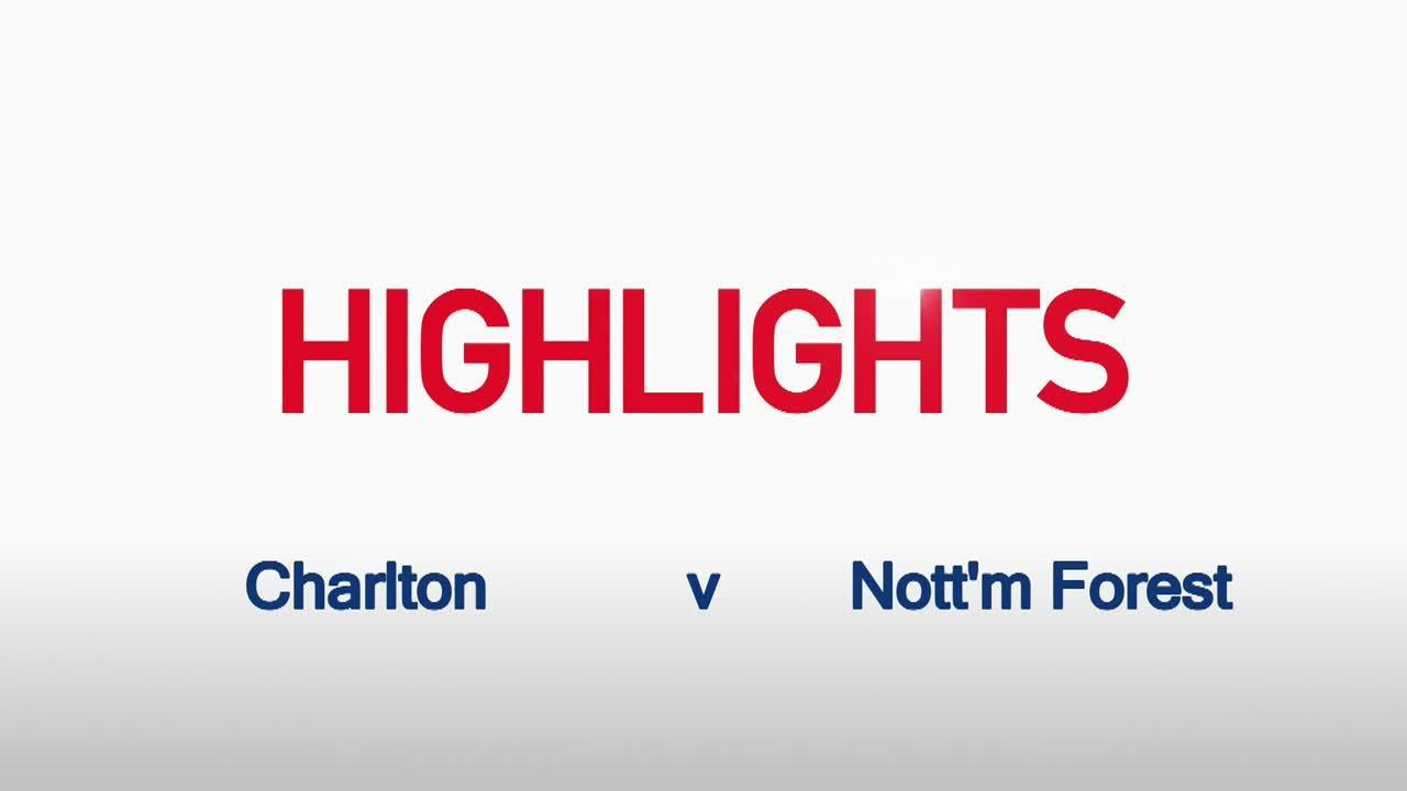 28 HIGHLIGHTS | Charlton 1 Nottingham Forest 1 (Jan 2016)