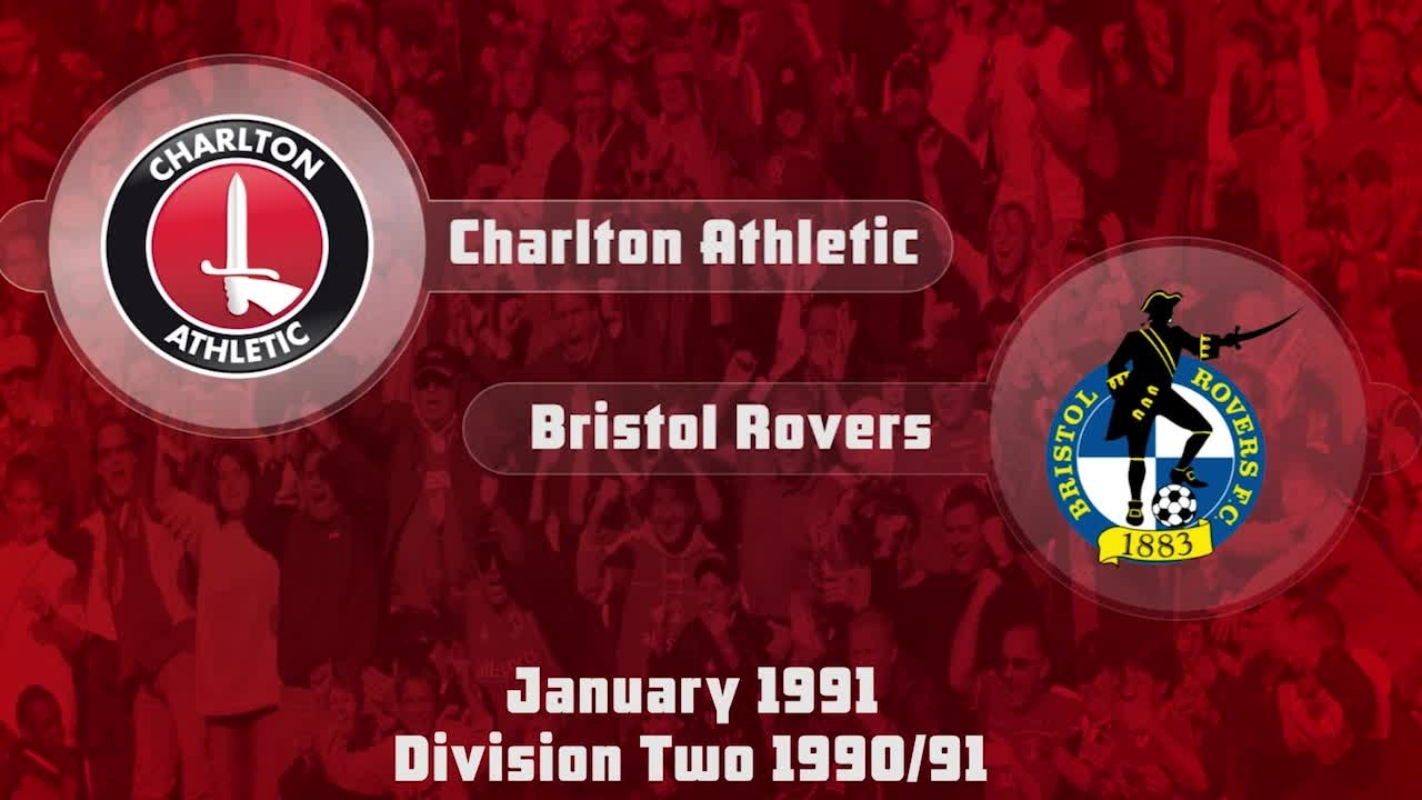29 HIGHLIGHTS | Charlton 2 Bristol Rovers 2 (Jan 1991)