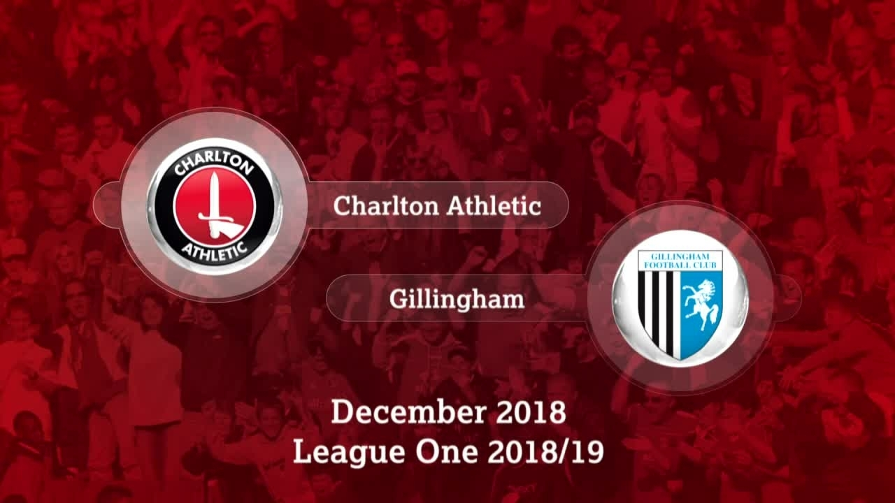 GOALS | Charlton 2 GIllingham 0 (December 2018)