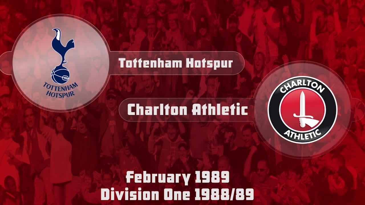 30 HIGHLIGHTS | Tottenham 1 Charlton 1 (Feb 1989)