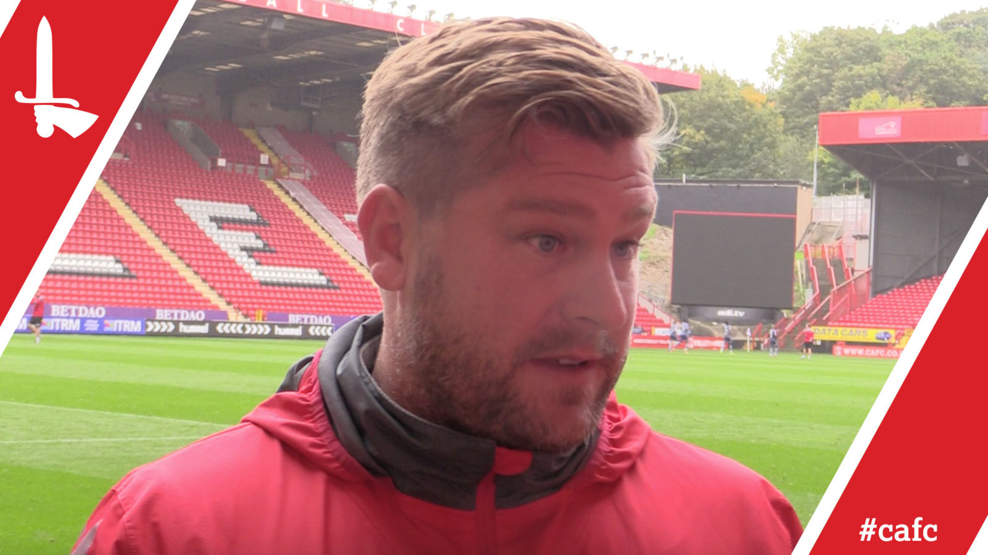 Karl Robinson explains the importance of Saturday's inter-squad match