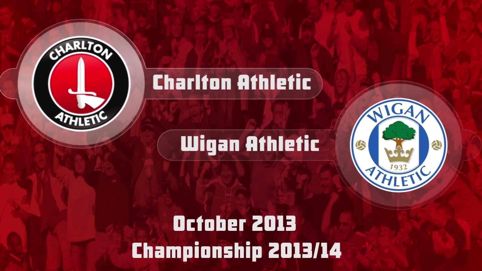 14 HIGHLIGHTS | Charlton 0 Wigan 0 (Oct 2013)