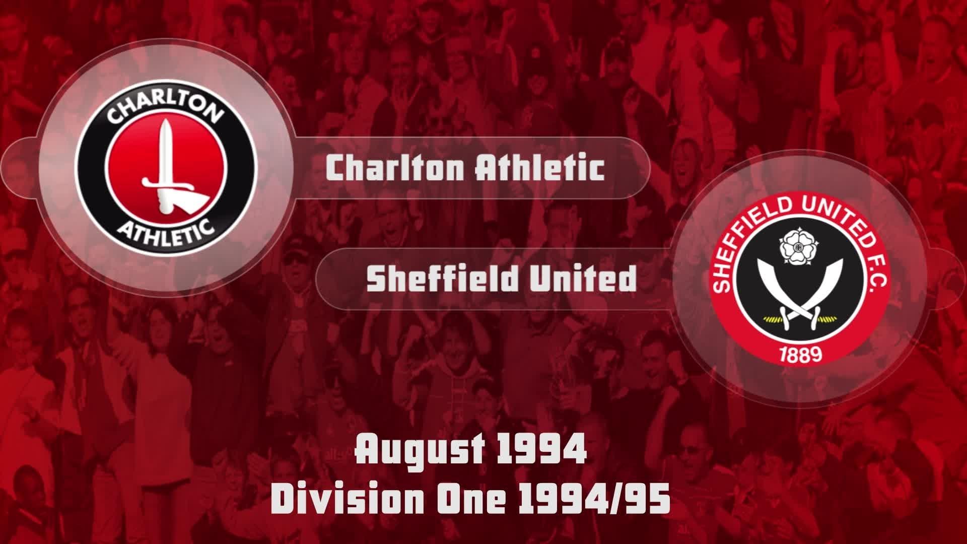 04 HIGHLIGHTS | Charlton 1 Sheff Utd 1 (Aug 1994)