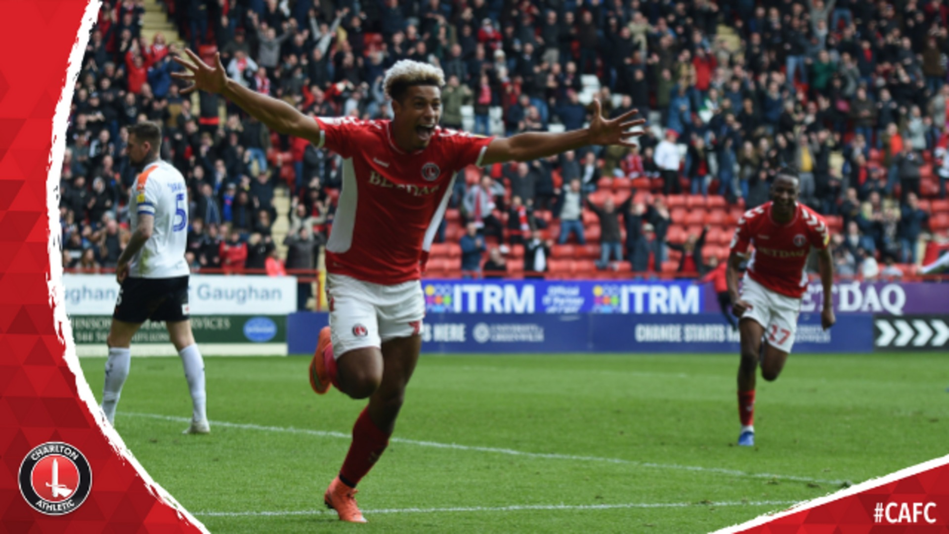 ALL ANGLES COVERED | Charlton 3 Luton Town 1 (April 2019)