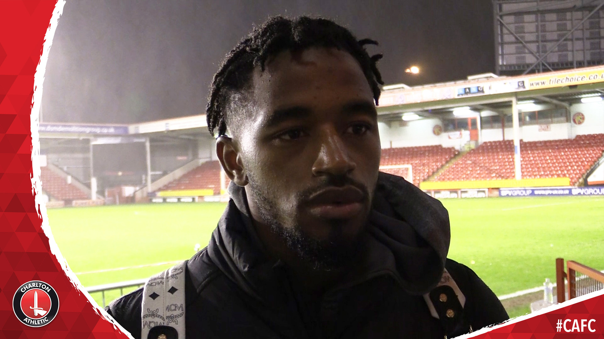 Fosu delighted with Charlton's performance at Walsall