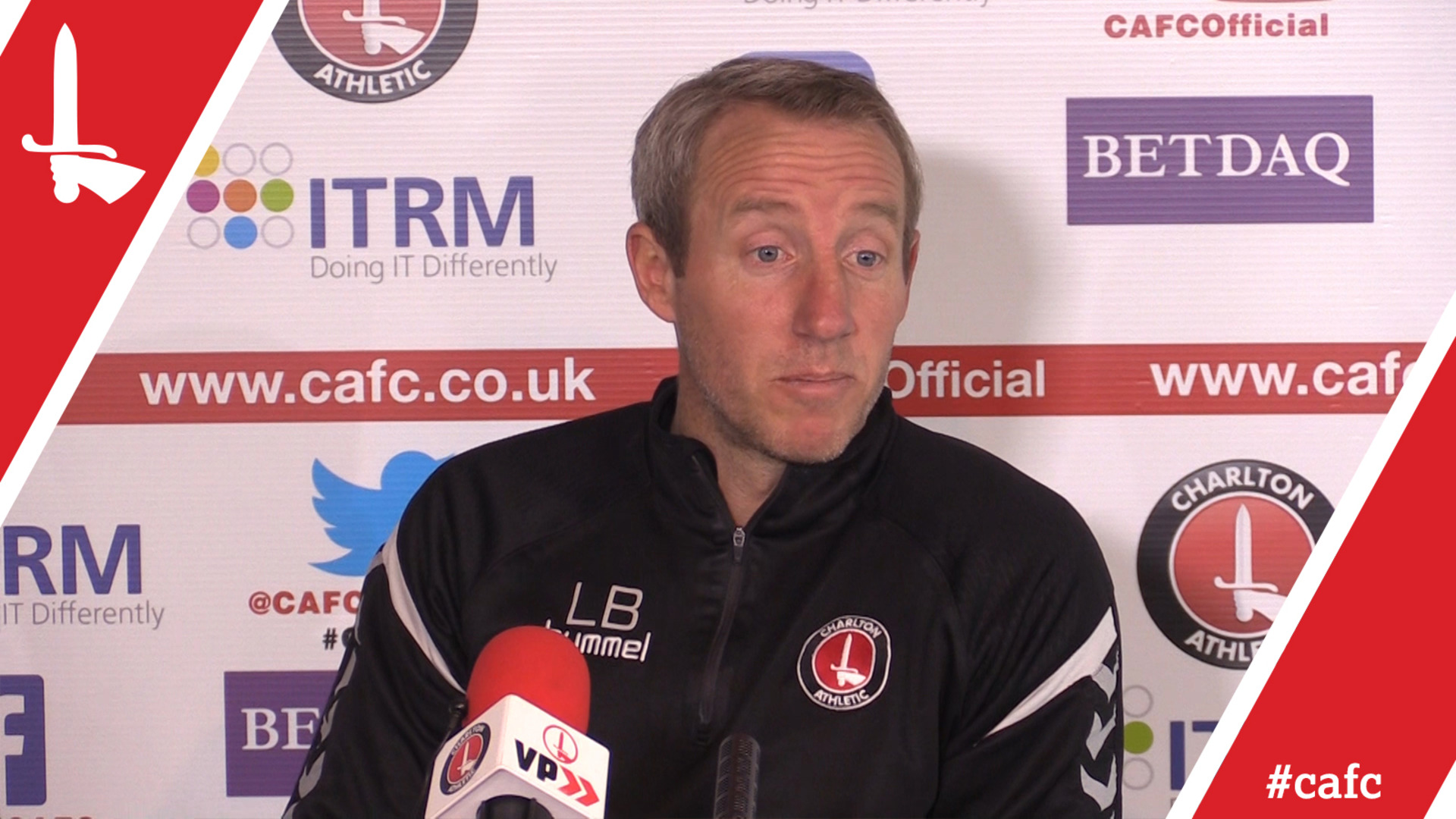 PRESS CONFERENCE | Lee Bowyer's first press conference as Charlton Caretaker Manager