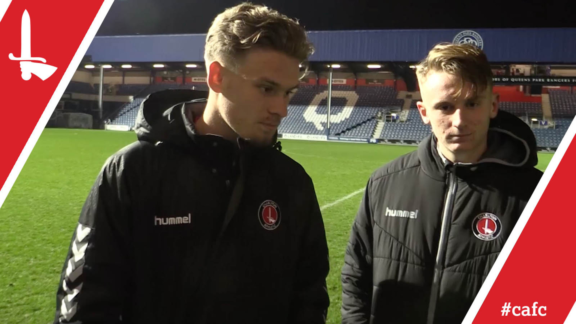 Goalscorers Carey and Doughty on Charlton's FA Youth Cup win at QPR