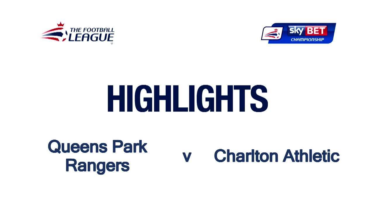 45 HIGHLIGHTS | QPR 2 Charlton 1 (April 2016)