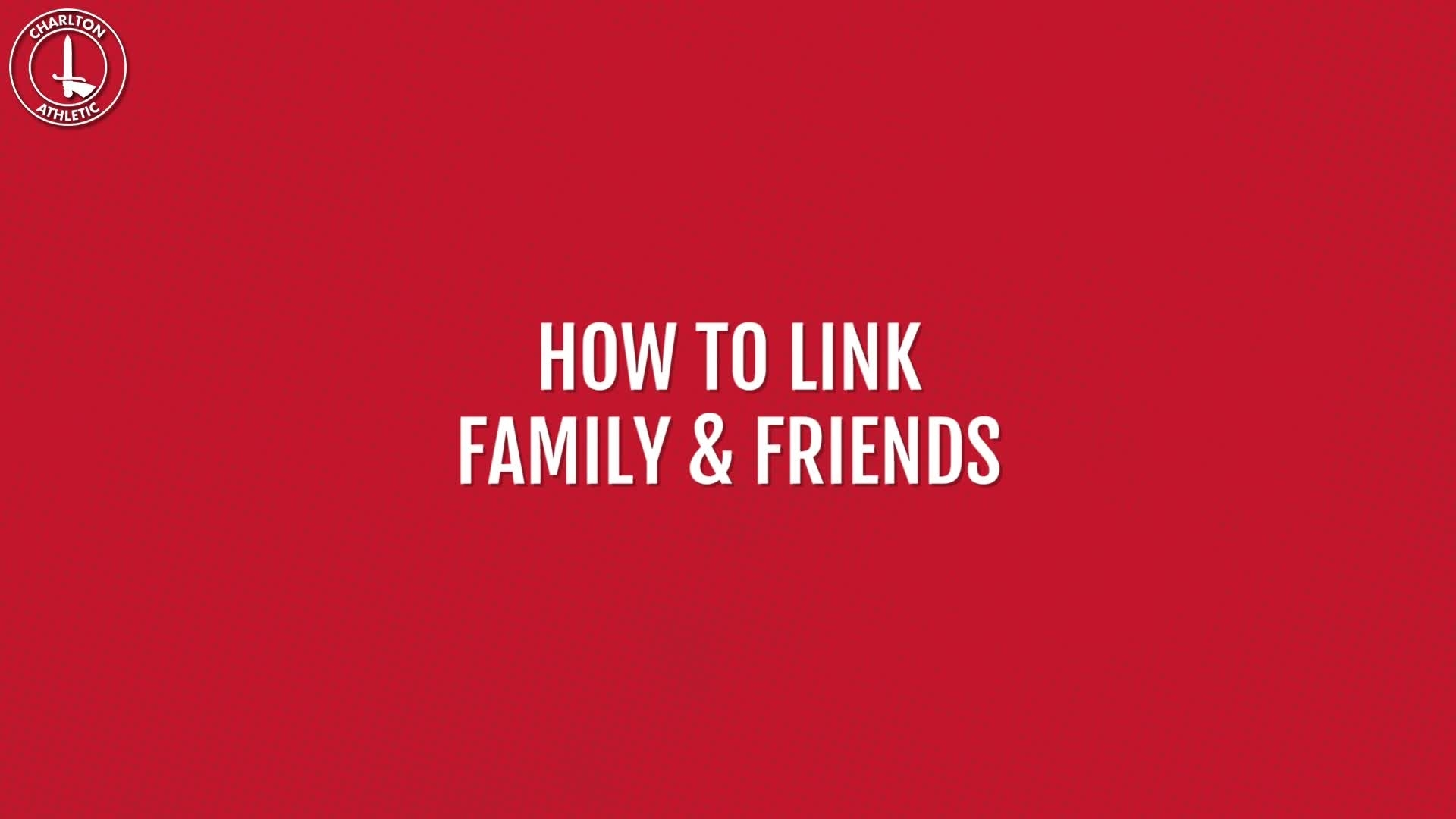 How to link your family and friends on the club's ticketing website