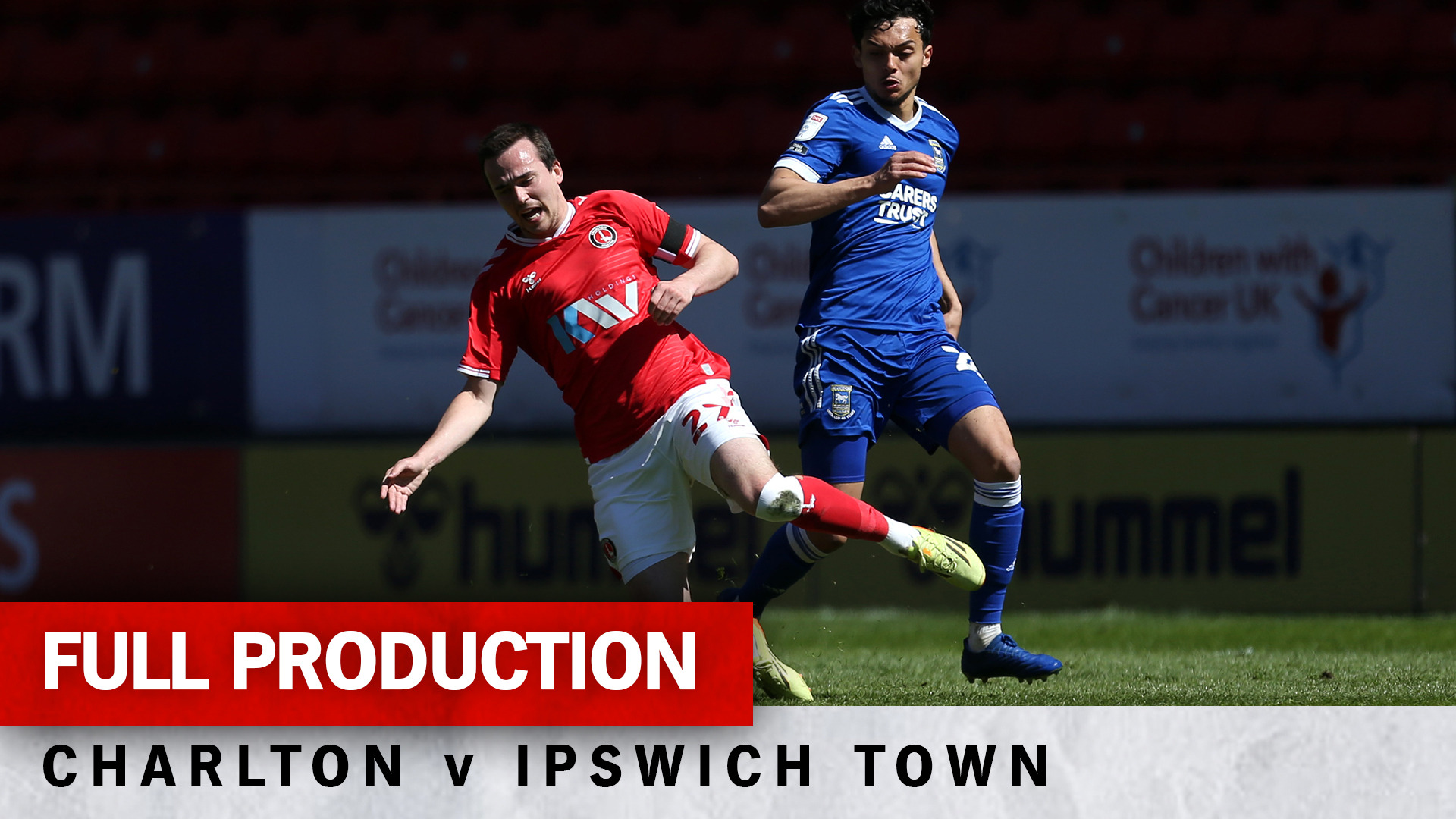 Charlton TV | Full broadcast - Ipswich Town (h) (April 2021)