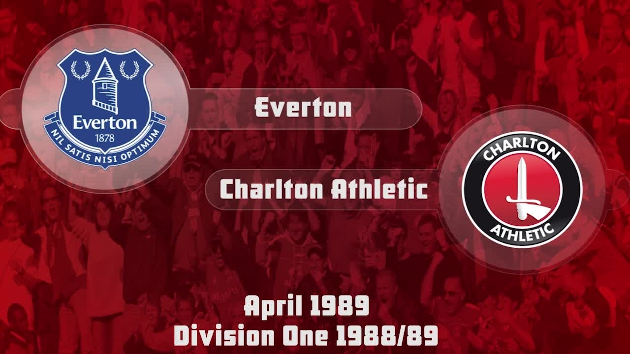 39 HIGHLIGHTS | Everton 3 Charlton 2 (April 1989)
