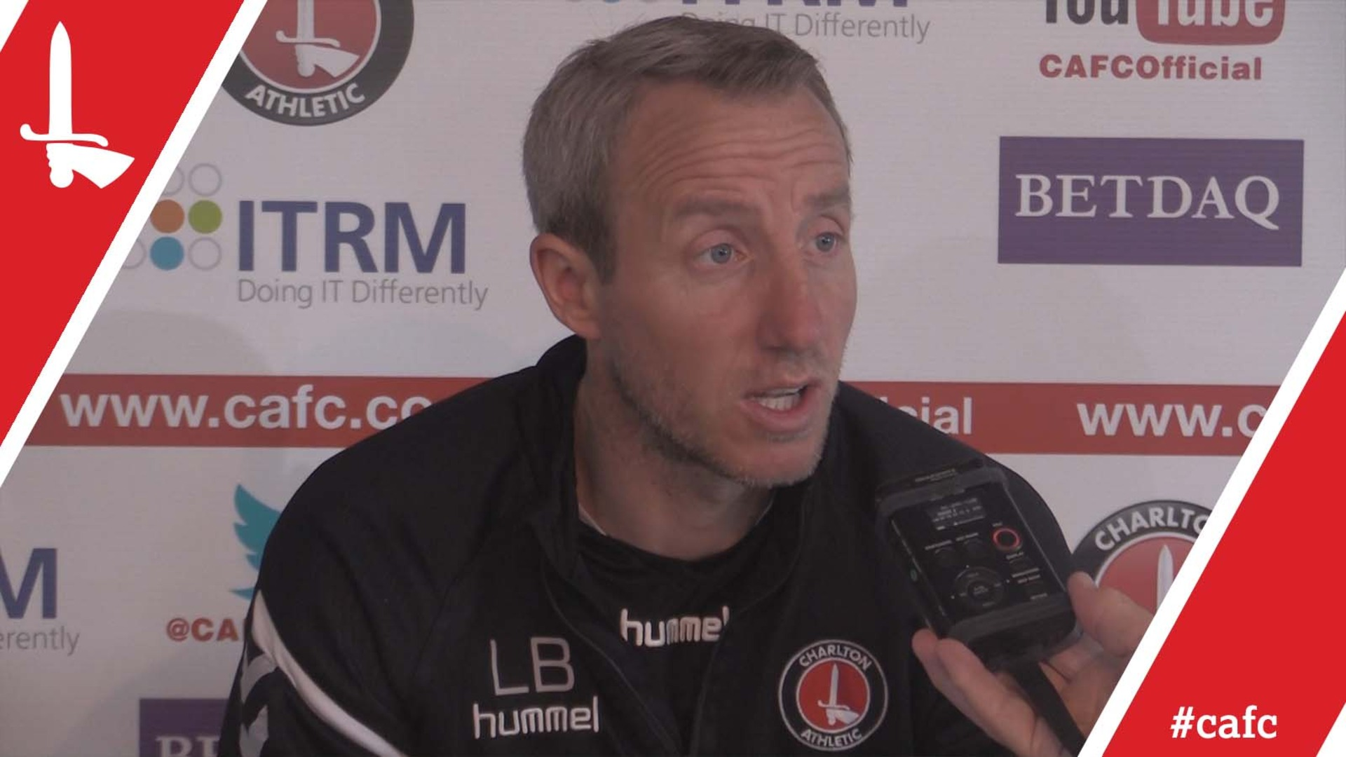 Lee Bowyer's pre-Portsmouth press conference (April 2018)