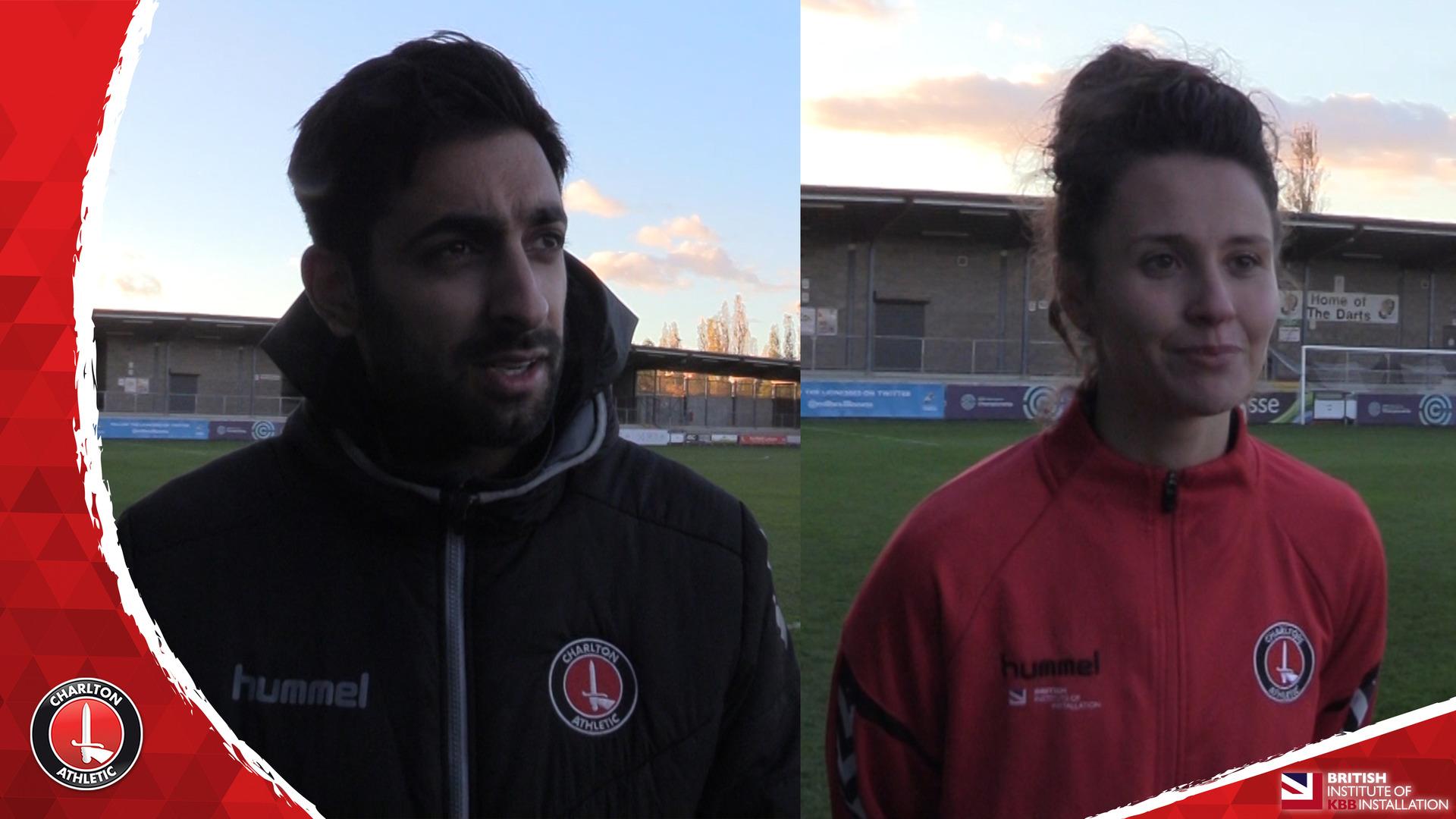 WOMEN'S REACTION | Riteesh Mishra and Liz Ejupi reflect on Millwall victory