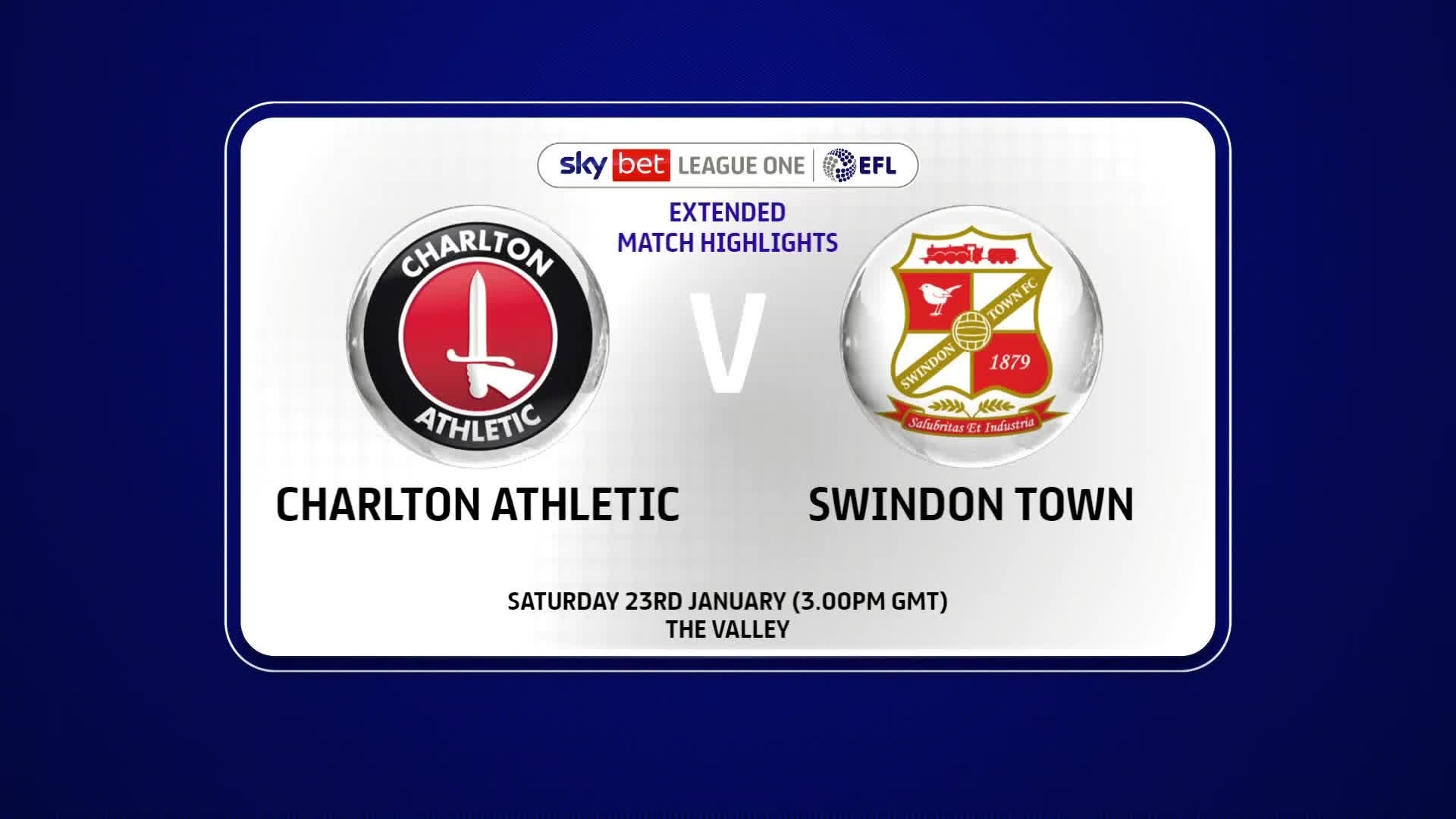 EXTENDED HIGHLIGHTS | Charlton 2 Swindon Town 2 (January 2021)