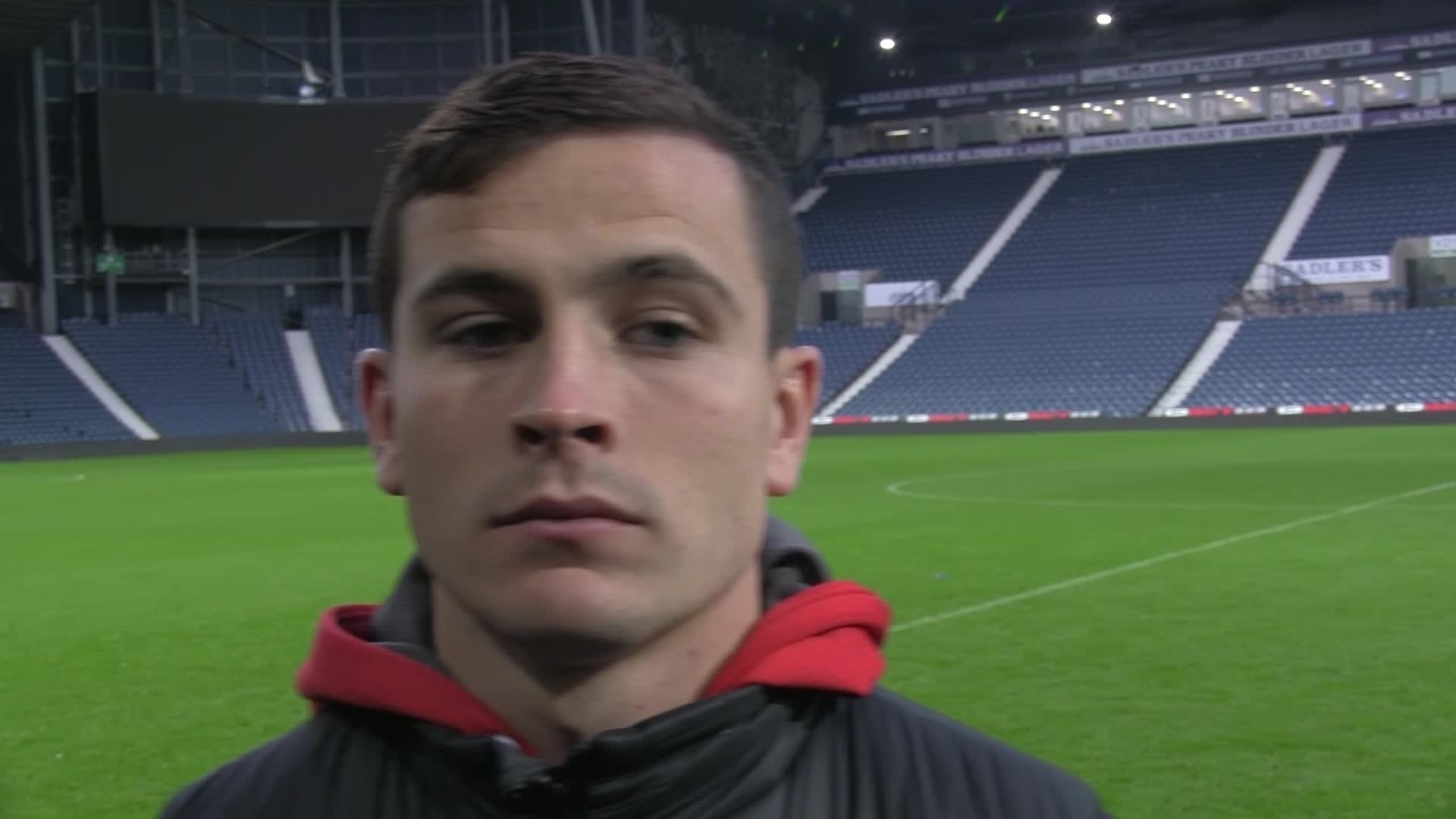 POST-MATCH | Penalty hero Cullen speaks after netting late equaliser at West Brom