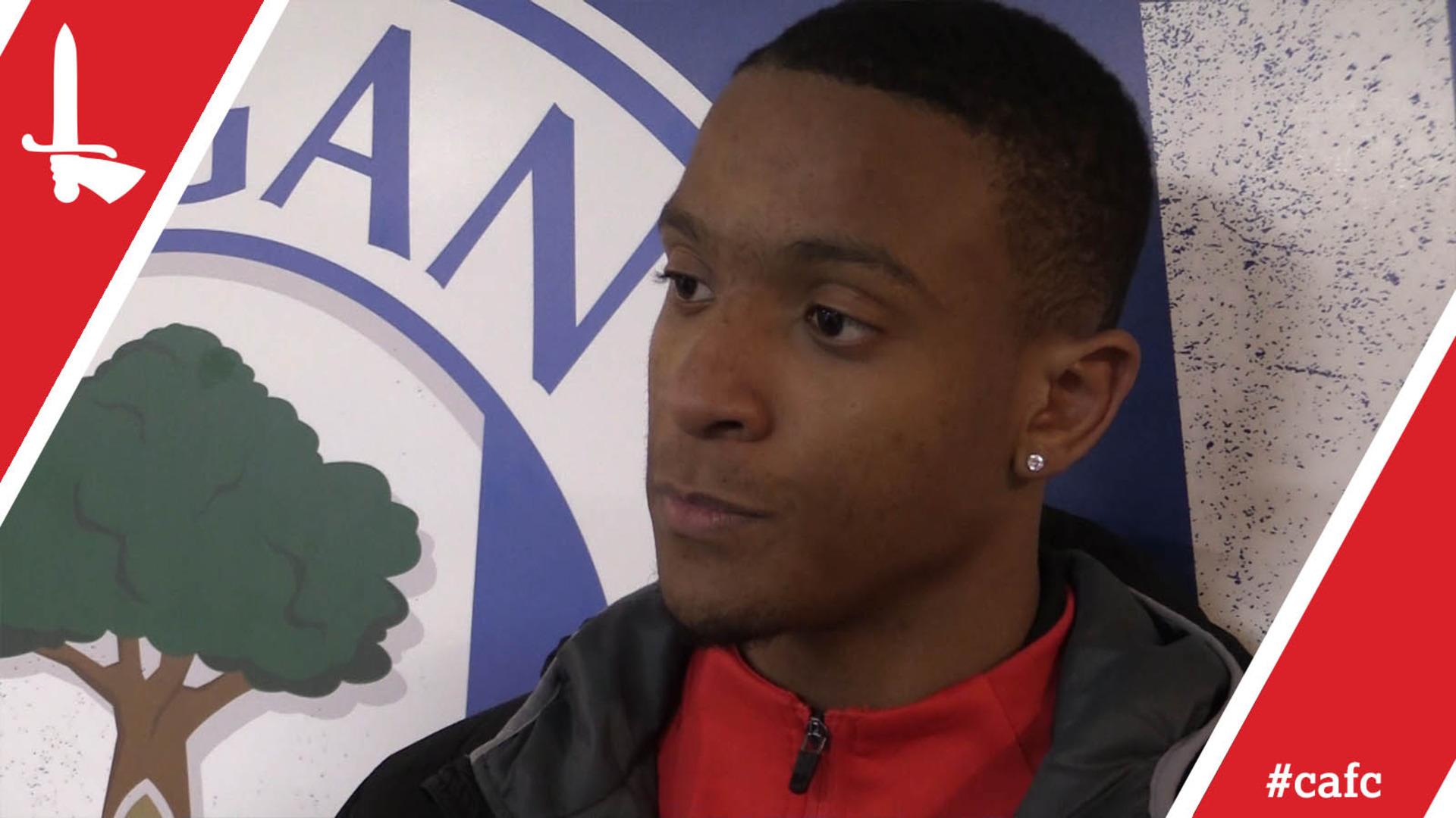 Academy graduate Ezri Konsa on Charlton's draw at Wigan