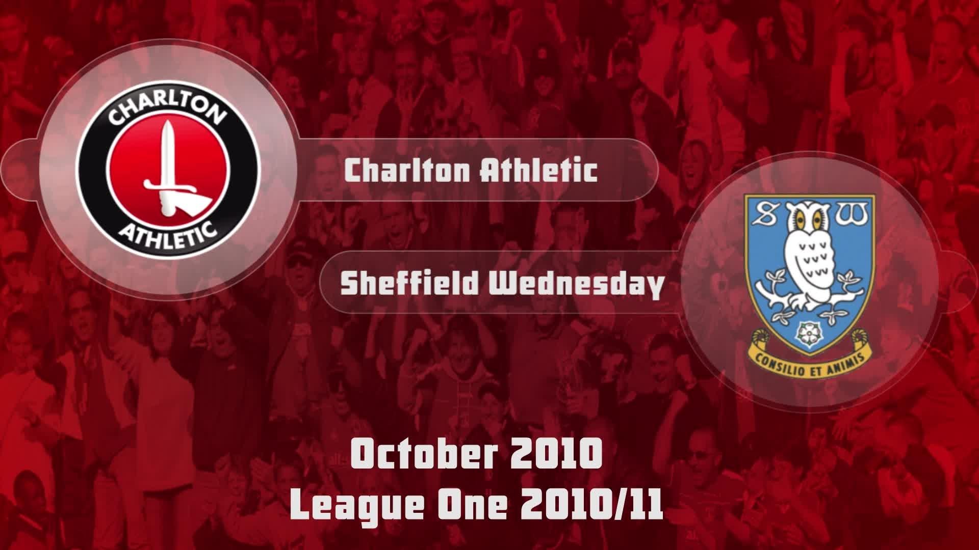 17 HIGHLIGHTS | Charlton 1 Sheffield Wednesday 0 (Oct 2010)