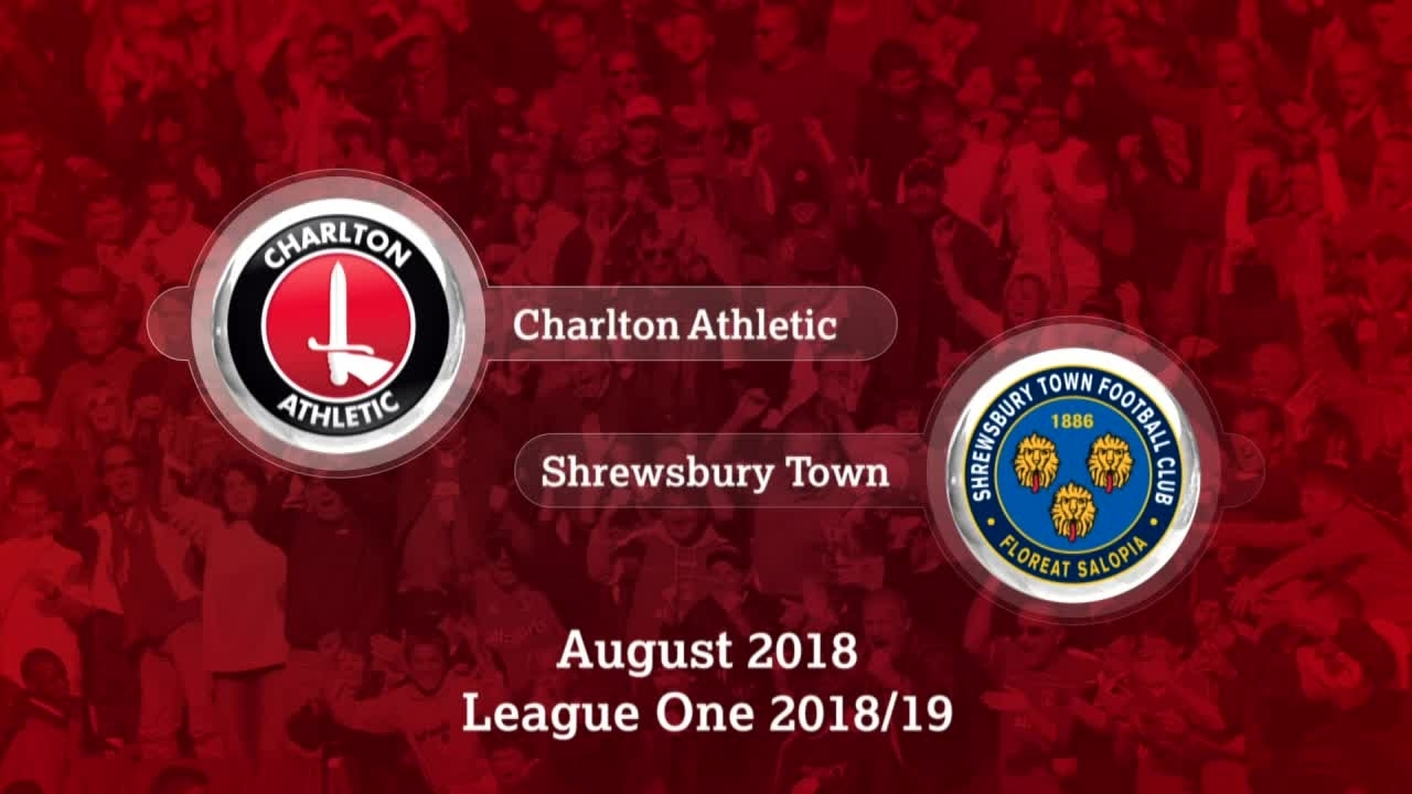 GOALS | Charlton 2 Shrewsbury 1 (Aug 2018)
