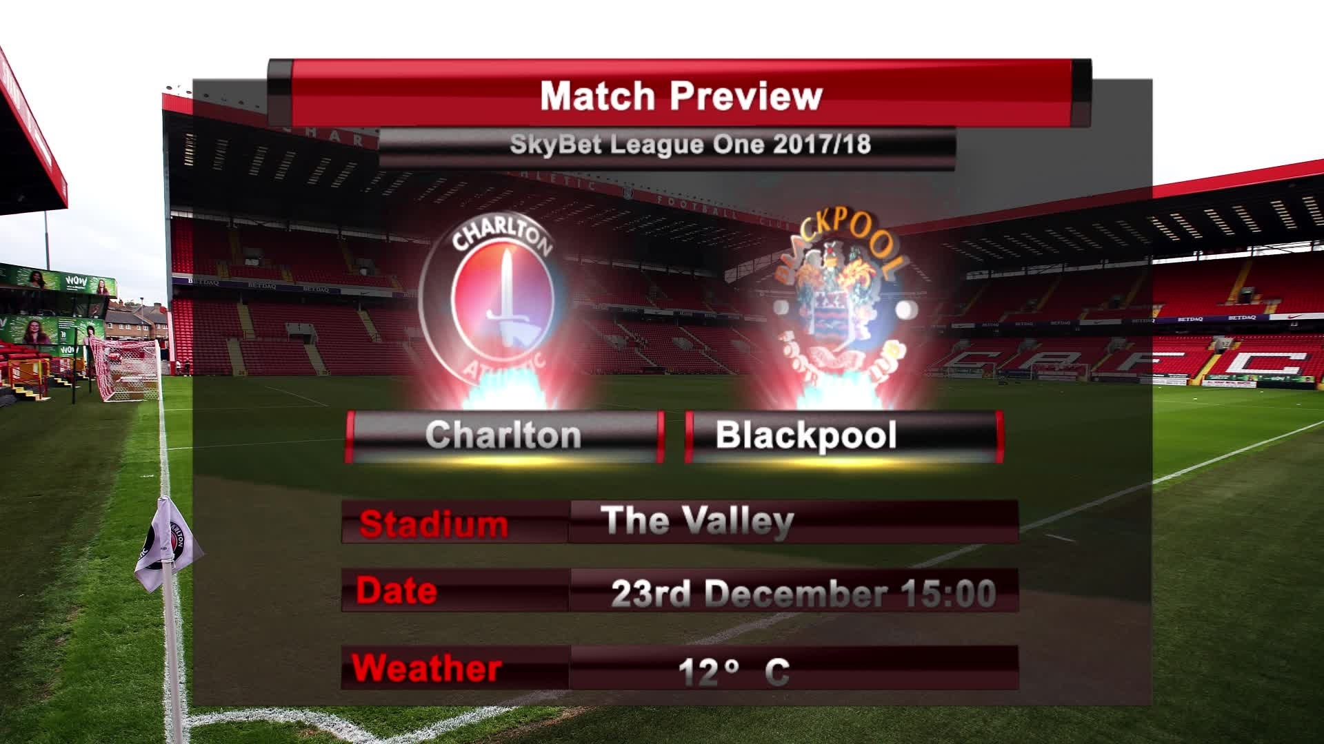 MATCH PREVIEW | Charlton vs Blackpool