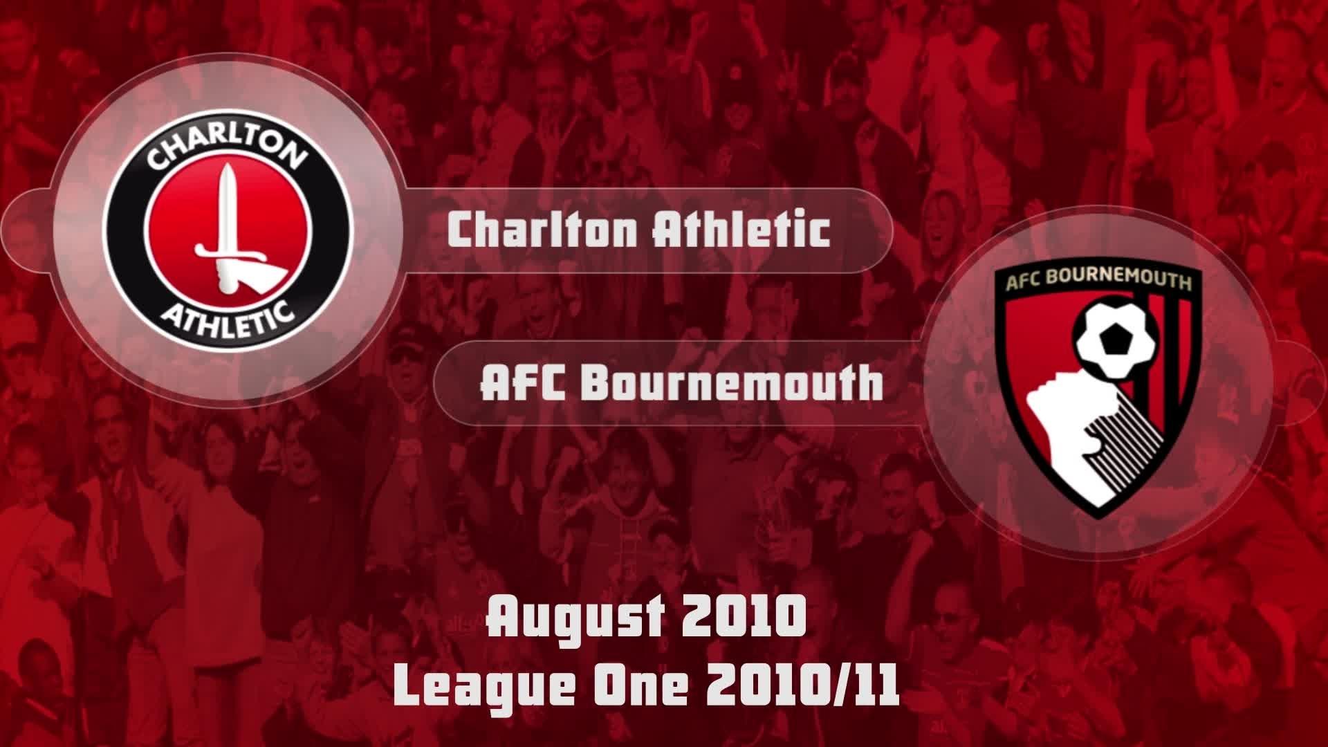 01 HIGHLIGHTS | Charlton 1 AFC Bournemouth 0 (Aug 2010)