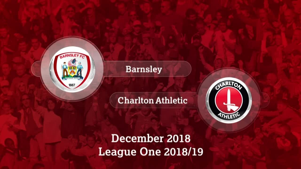 GOALS | Barnsley 2 Charlton 1 (December 2018)