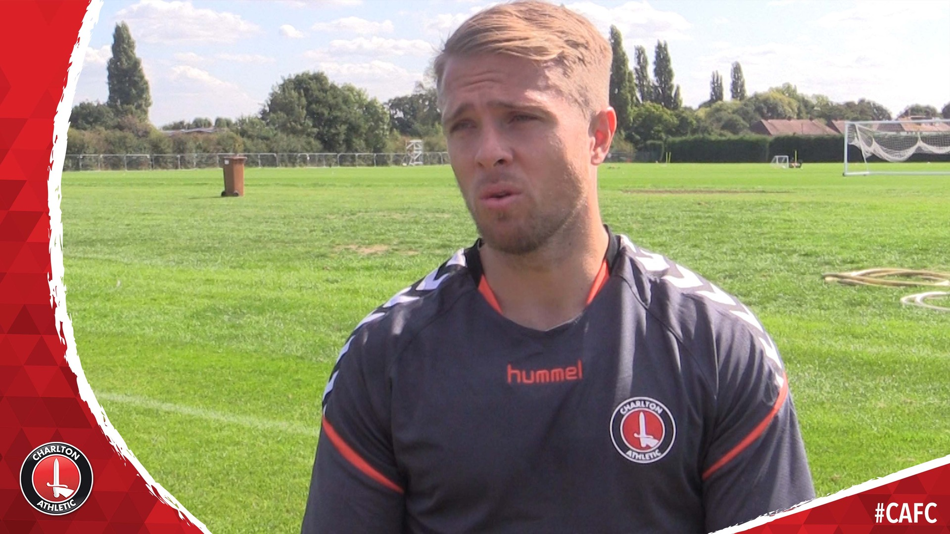 Jamie Ward's first Charlton interview