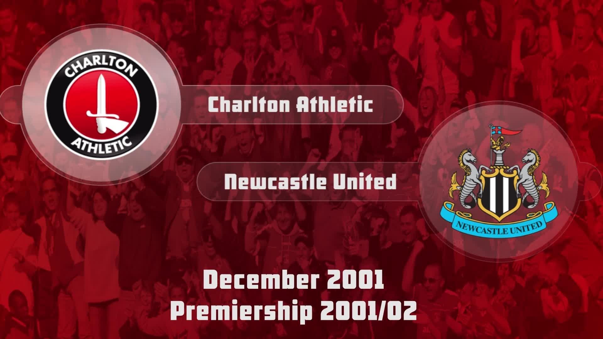17 HIGHLIGHTS | Charlton 1 Newcastle 1 (Dec 2001)