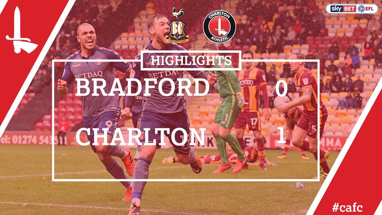 16 HIGHLIGHTS | Bradford 0 Charlton 1 (Oct 2017)