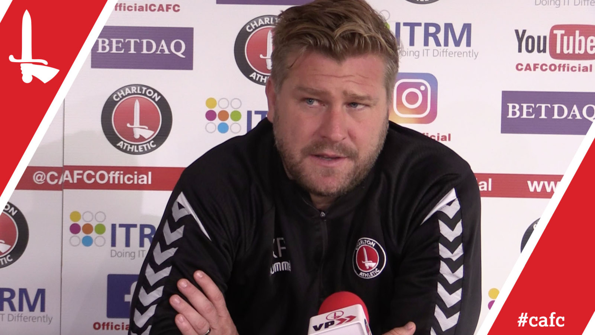 Karl Robinson's pre-Doncaster Rovers press conference