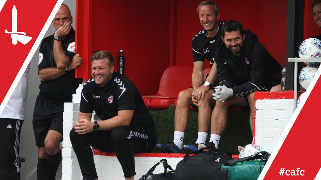 Robinson reflects on a successful day on the pitch