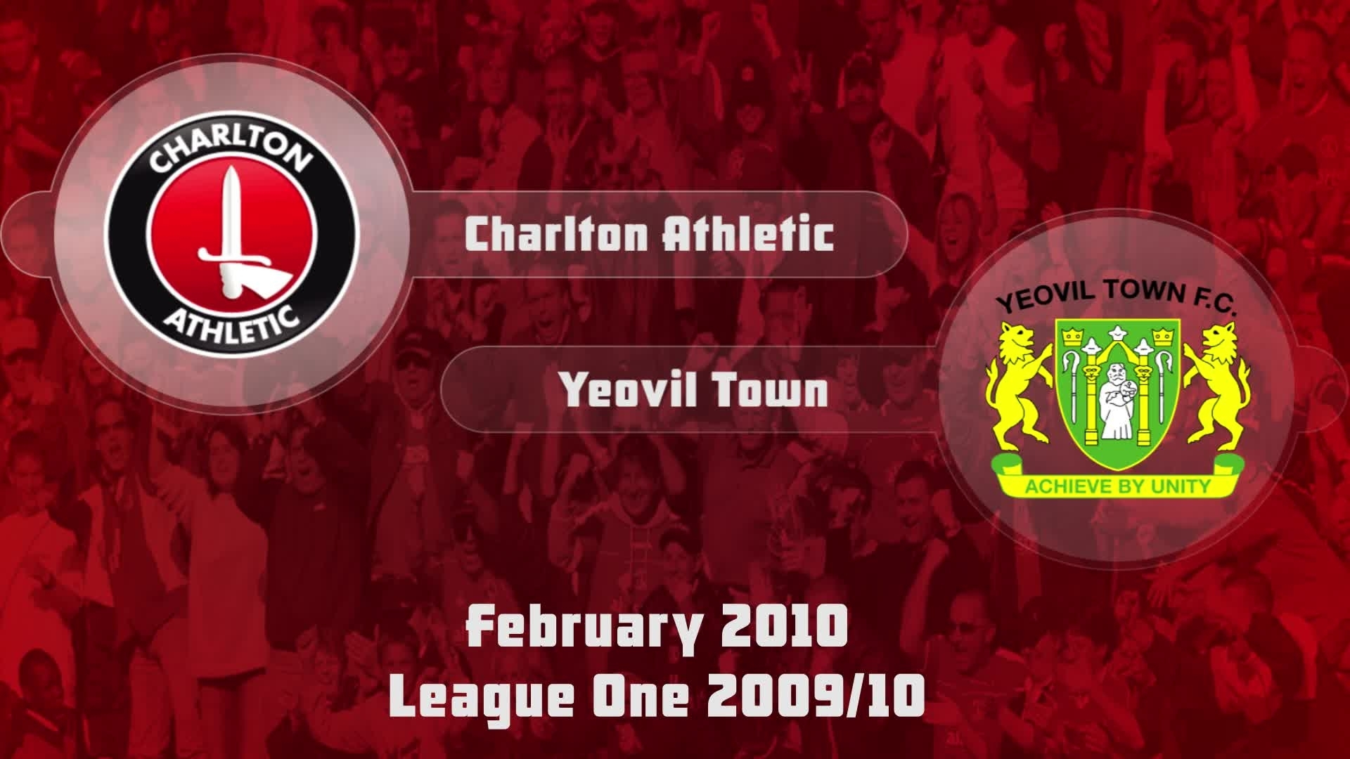 36 HIGHLIGHTS | Charlton 2 Yeovil 0 (Feb 2010)