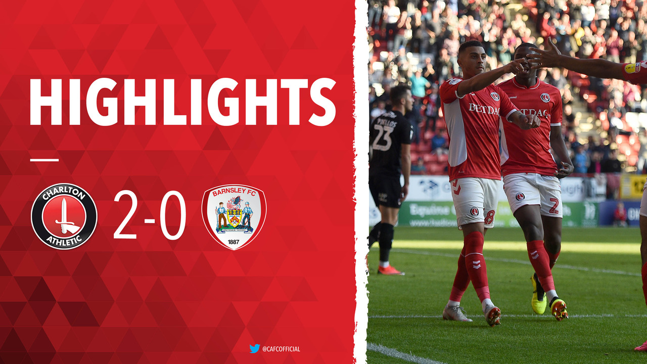 16 HIGHLIGHTS | Charlton 2 Barnsley 0 (October 2018)