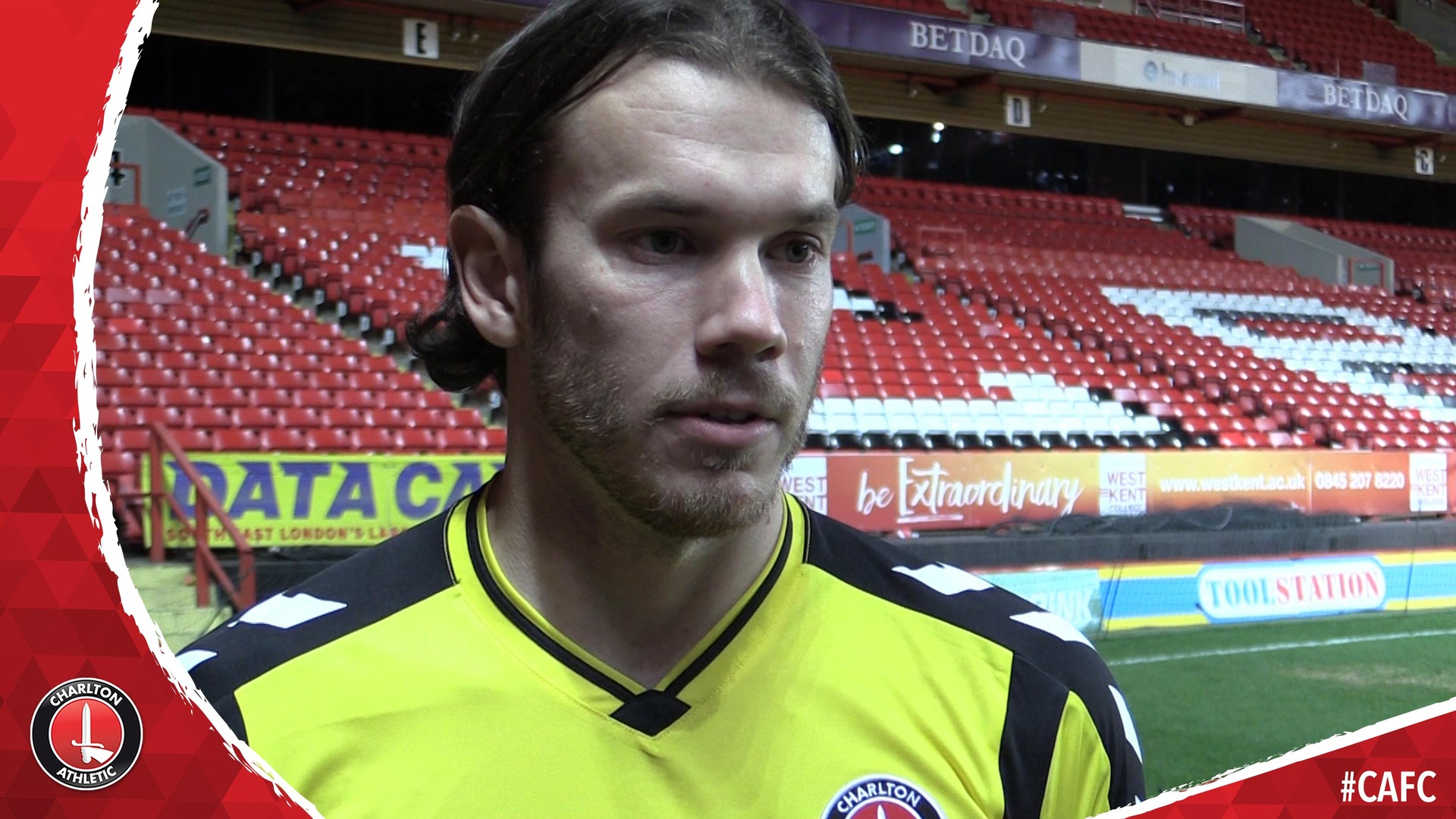Chris Maxwell's first Charlton interview