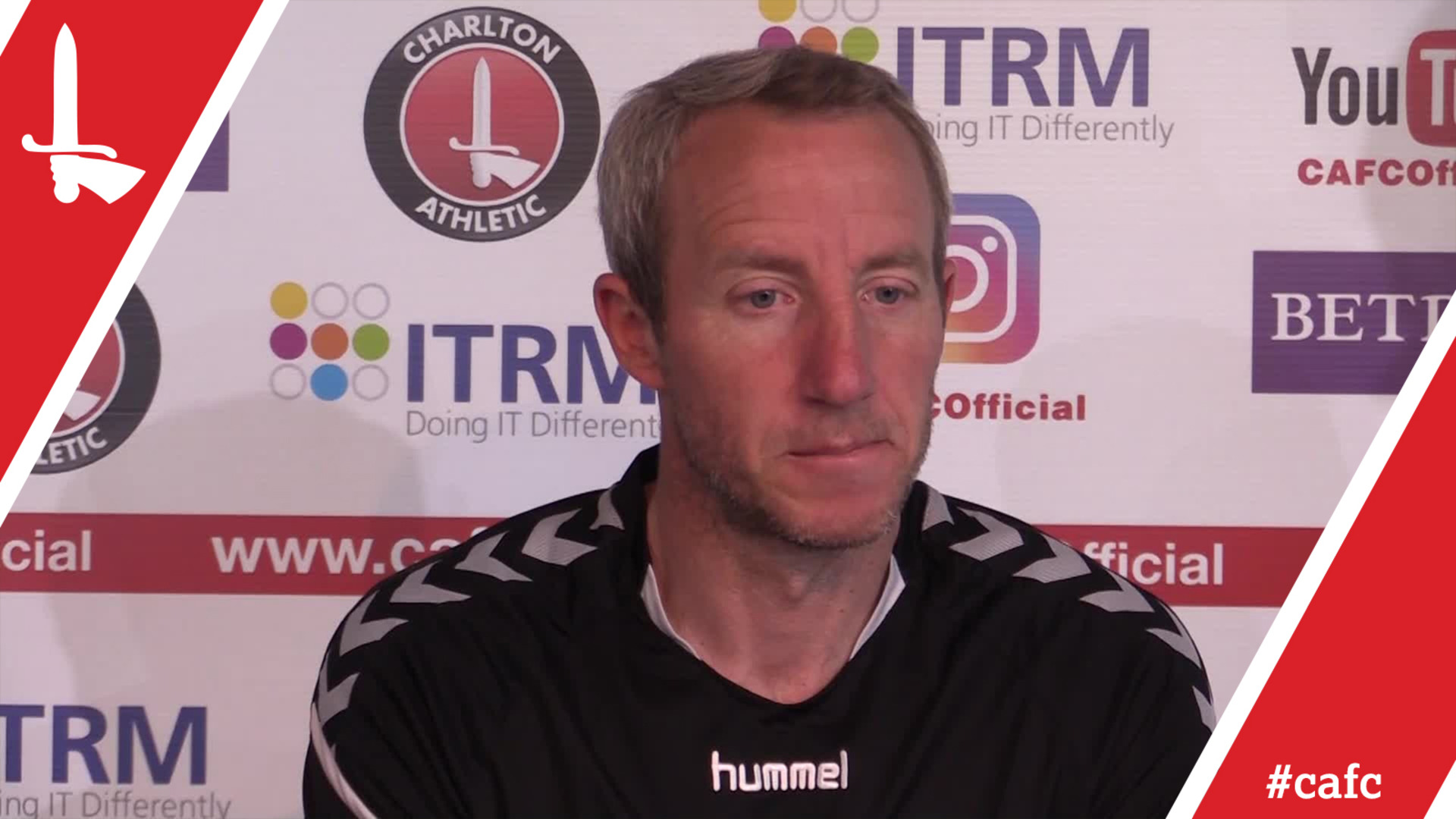 Lee Bowyer's pre-play-off semi-final first leg press conference (part one) (May 2018)