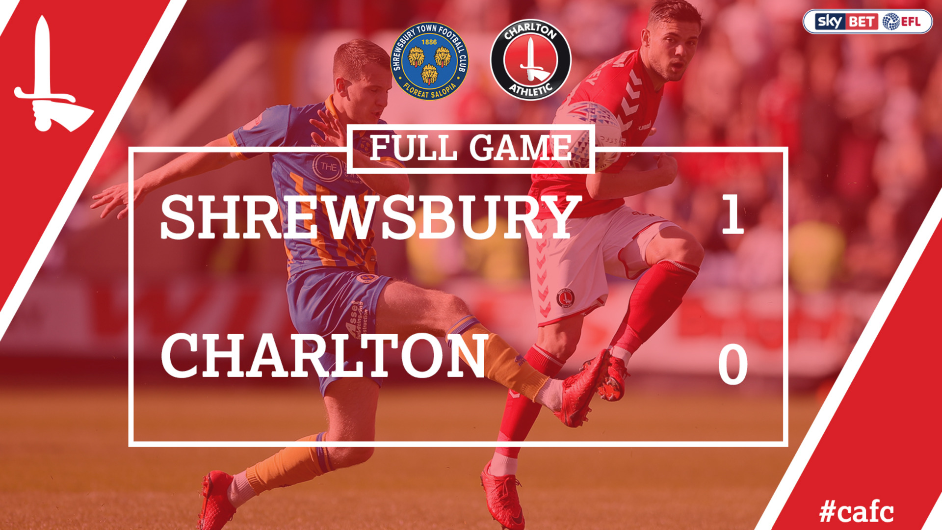 FULL GAME | Shrewsbury 1 Charlton 0 (Play-off Semi Final May 2018)