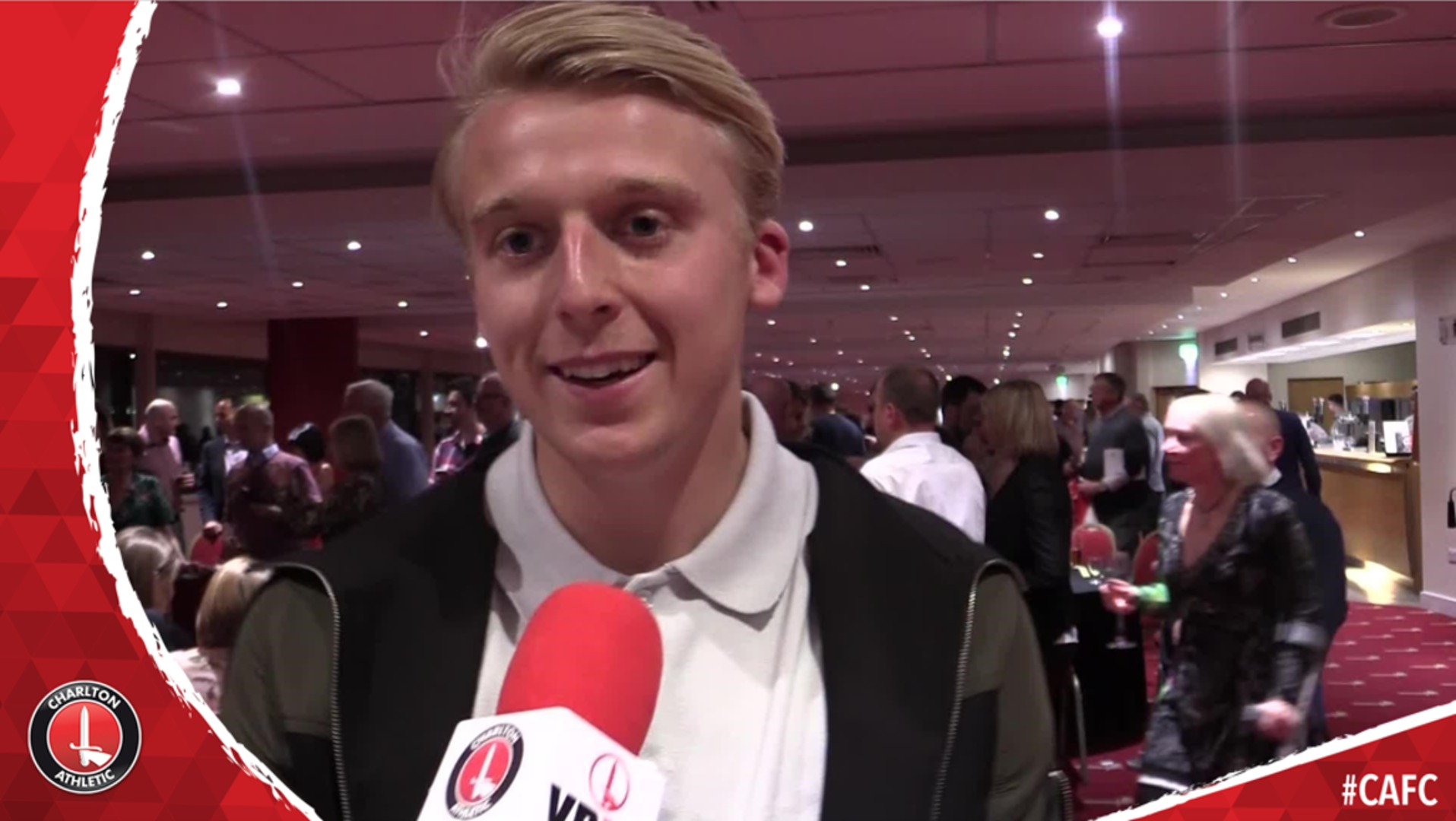 George Lapslie on winning Young player of the Year
