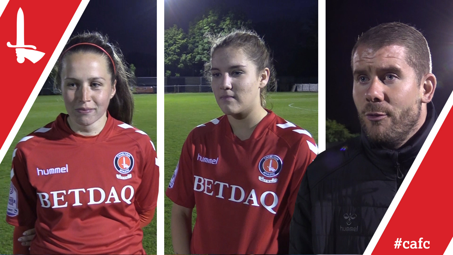 WOMEN'S REACTION | James Marrs, Nicole Pepper and Chloe Brunton-Wilde pleased with Gillingham victory (May 2018)