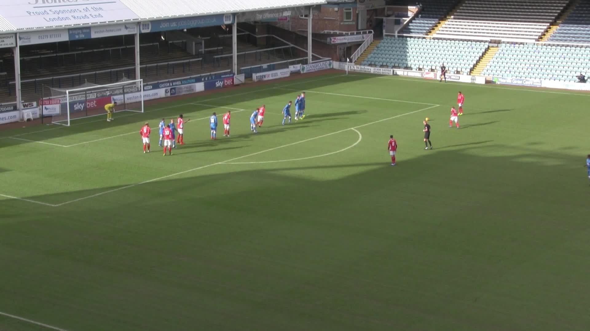 U23 HIGHLIGHTS | Peterborough United 0 Charlton 3