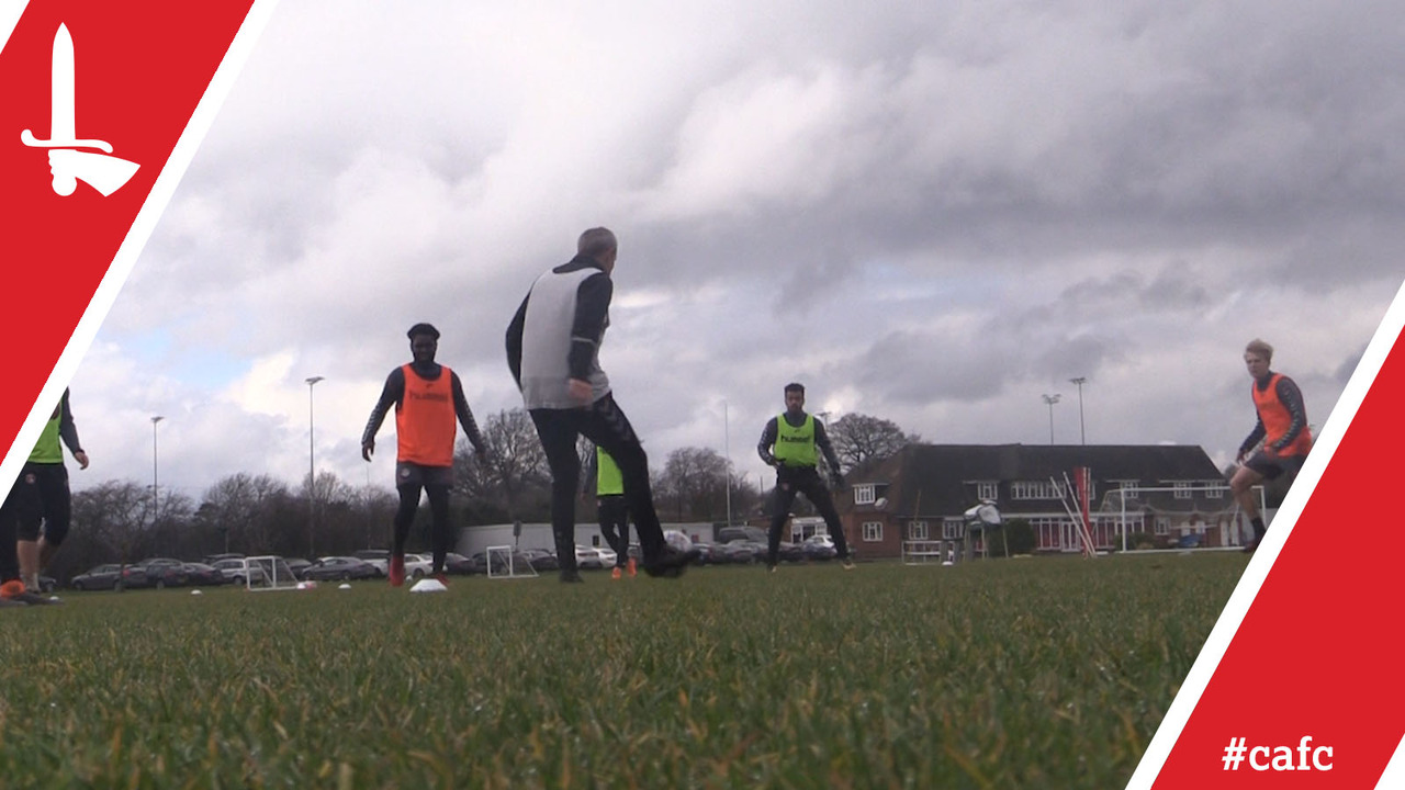 Small training group put through their paces | Behind the Scenes at the Training Ground (15/03/18)
