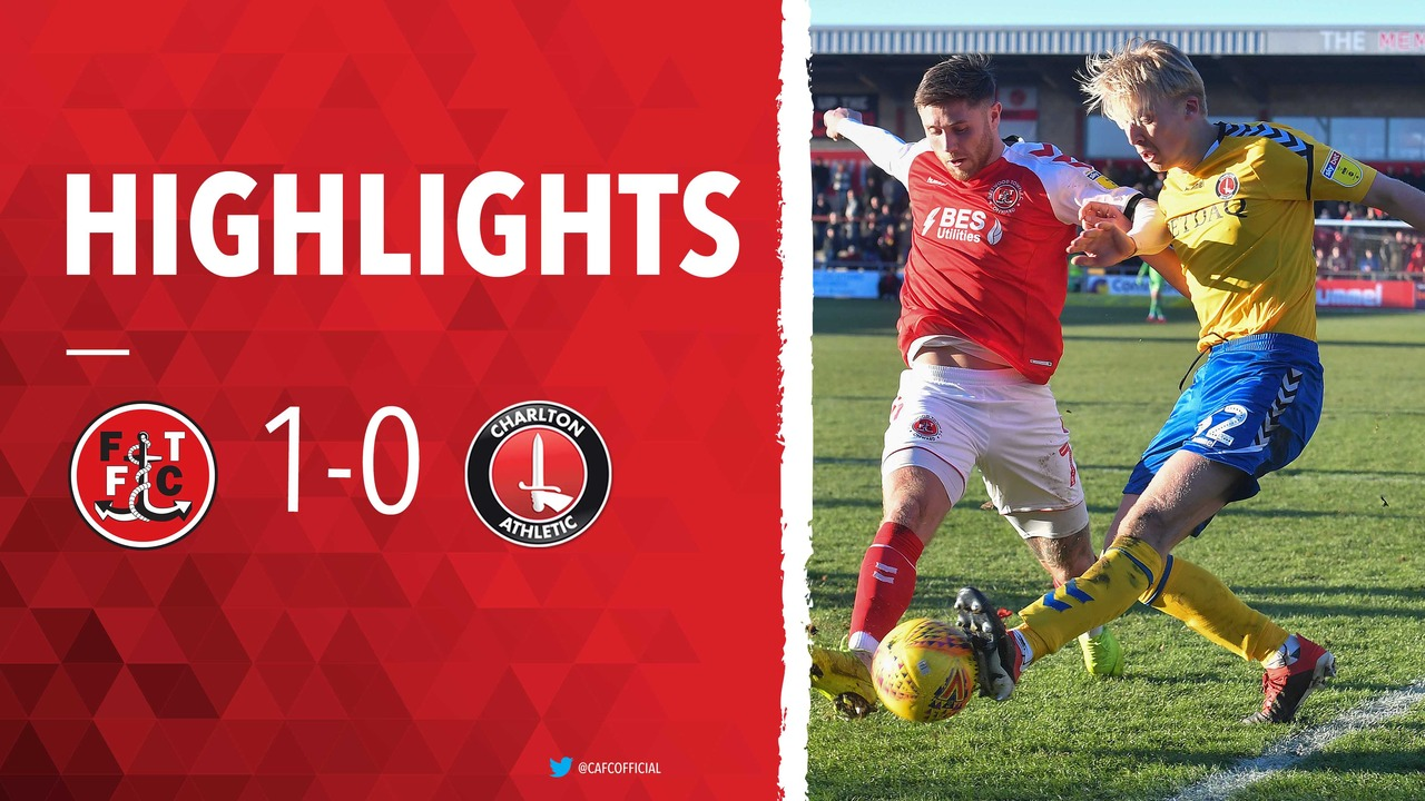 38 HIGHLIGHTS | Fleetwood Town 1 Charlton 0 (February 2019)